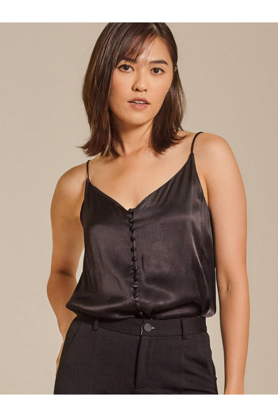 Button-Embelisshed Top