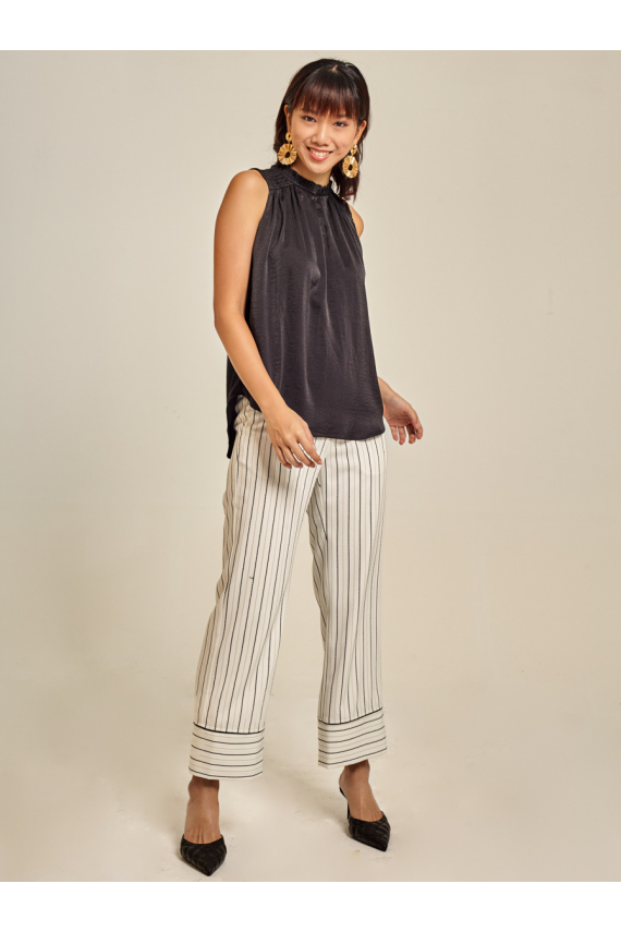 Smocked Voile Top