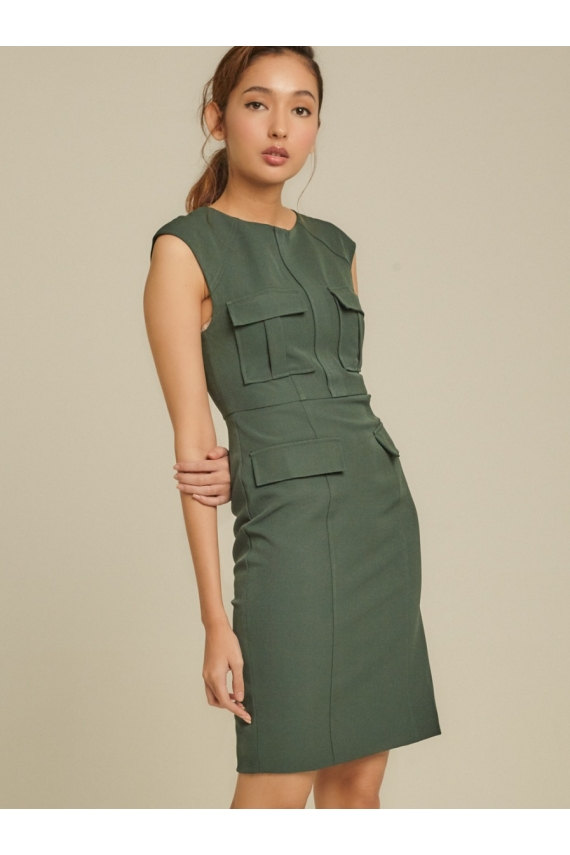 Structured Cady Dress