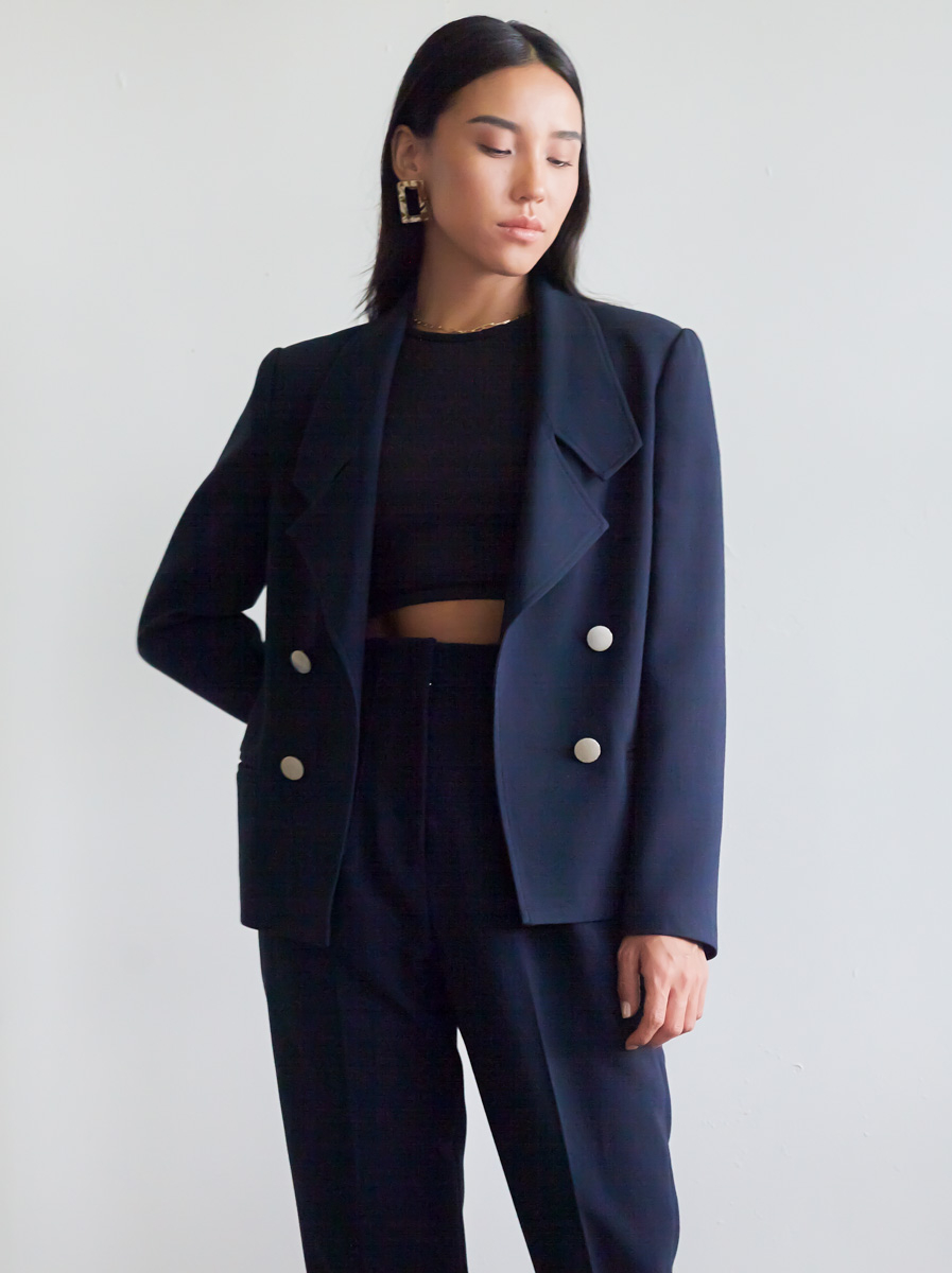 Double-Breasted Tailoring Jacket
