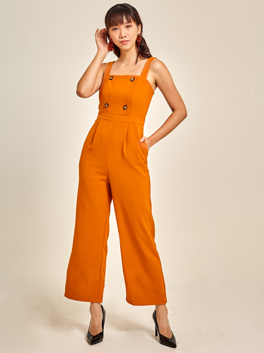 Tailored Cady Jumpsuit
