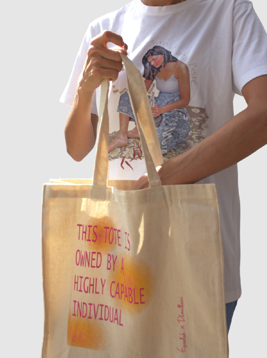 Fugeelah x Dhanilliani - Highly Capable Individual Tote