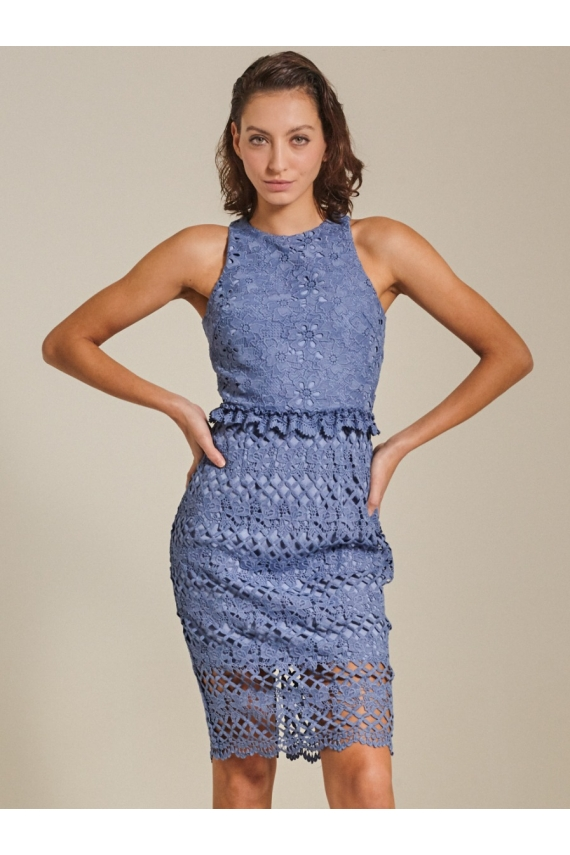 Lola Guipure Lace Dress